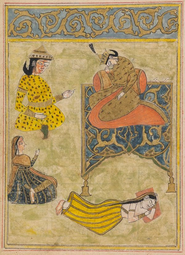 An image of A prince enthroned