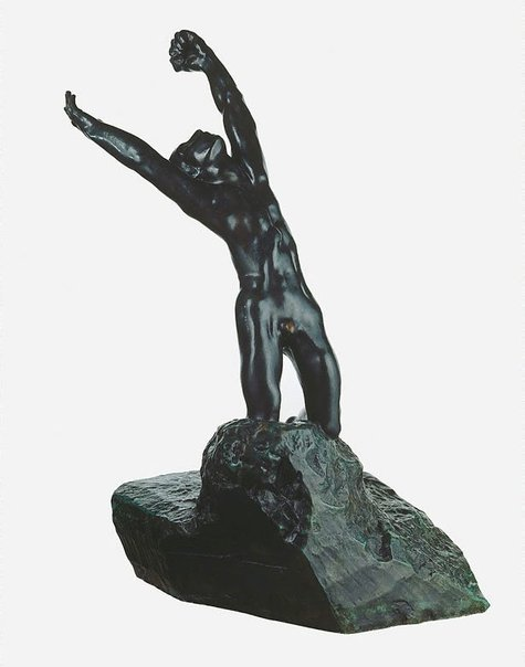 An image of The Prodigal Son by Auguste Rodin, Georges Rudier Fondeur