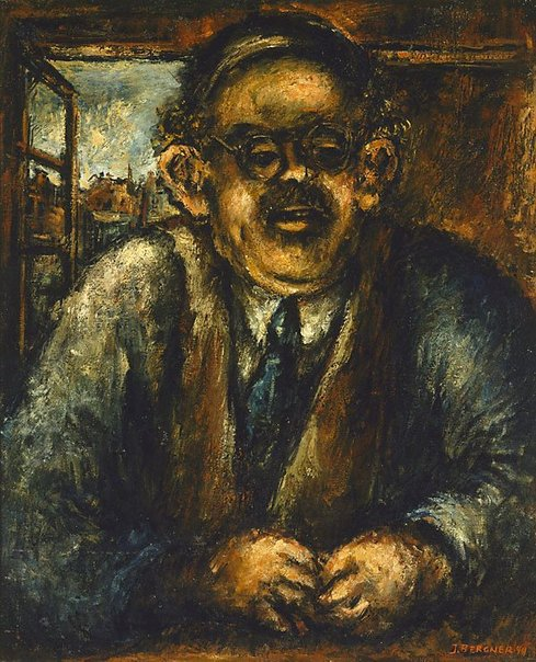An image of Portrait of Mr. I. Segal by Yosl Bergner