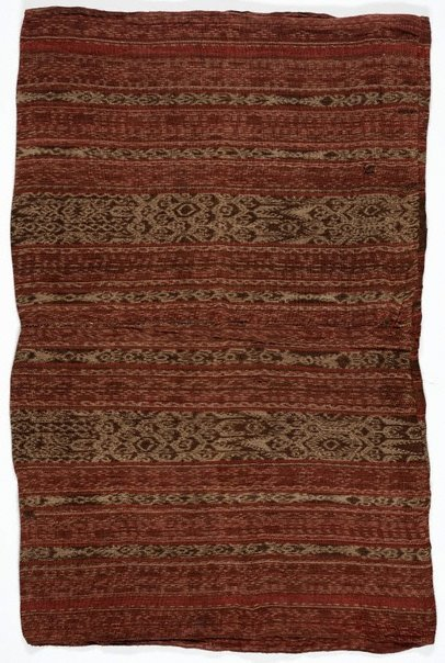 An image of Blanket or enclosed skirt (panapisan) by Bagobo