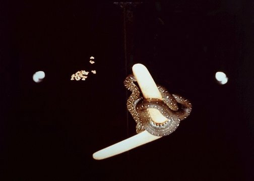 An image of Gold found by the artists by Marina Abramovic, Ulay