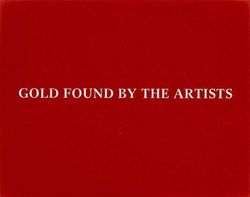 Alternate image of Gold found by the artists by Marina Abramovic, Ulay
