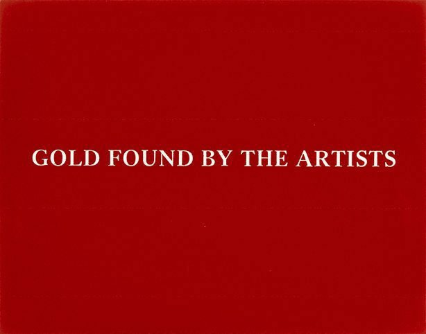 An image of Gold found by the artists