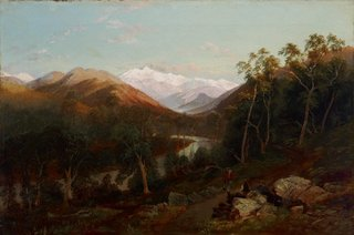 The Ovens Valley, Victoria, (1893) by Nicholas Chevalier