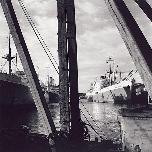 An image of Pyrmont docks, Sydney