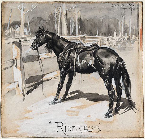 An image of Riderless