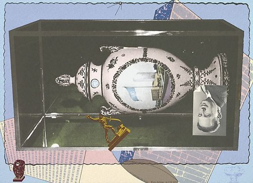 An image of U.N. exaggerated view by Bruce Latimer