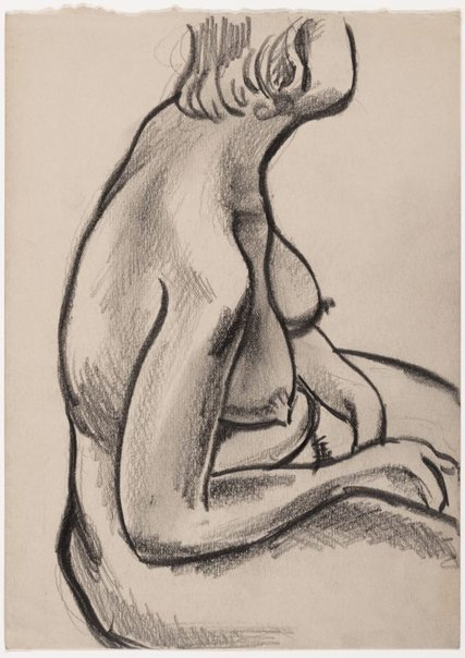 An image of Female nude by Albert Tucker