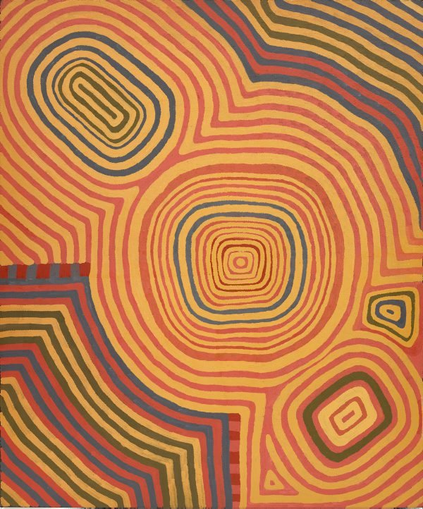 AGNSW collection Ronnie Tjampitjinpa Untitled (1994) 215.1994