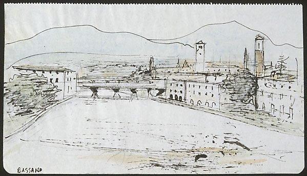 An image of Bridge over the Brenta, Bassano