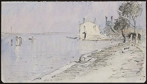An image of Torcello by Lloyd Rees