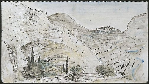 An image of Delphi by Lloyd Rees