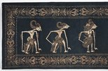 Alternate image of Cloth with design of wayang figures by