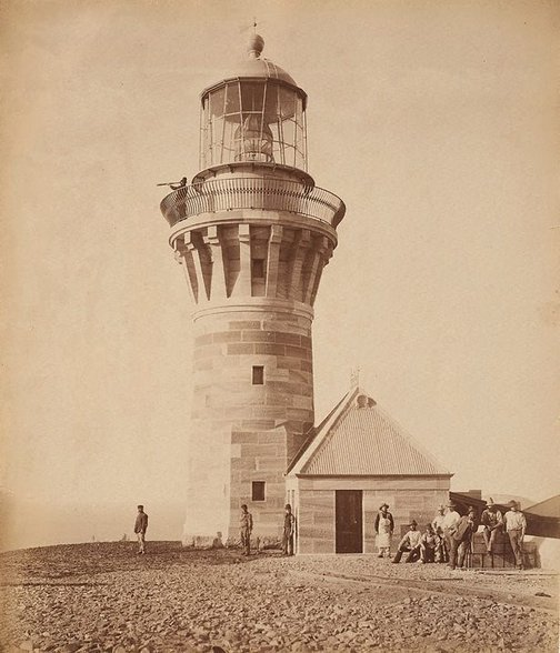 An image of Lighthouse, Baranjoey [sic.] by John Paine