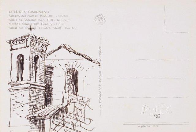 An image of San Gimignano church