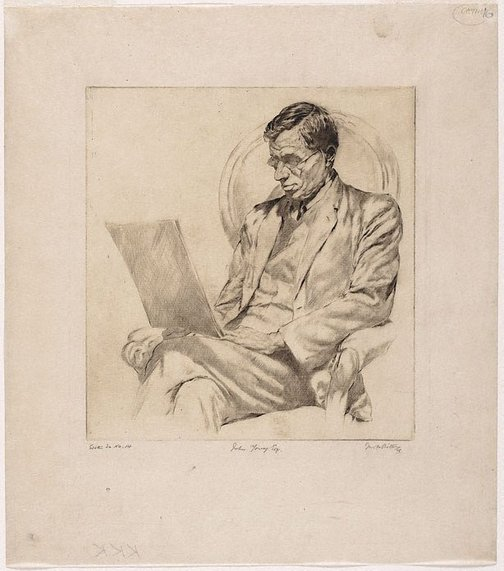 An image of John Young Esq by Fred Britton