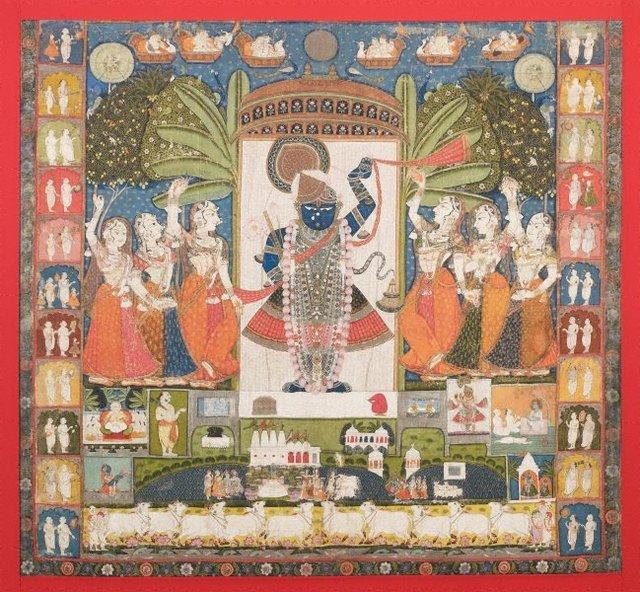 An image of Autumn Moon festival (Sharad purnima)
