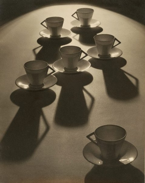 An image of Tea cup ballet by Olive Cotton