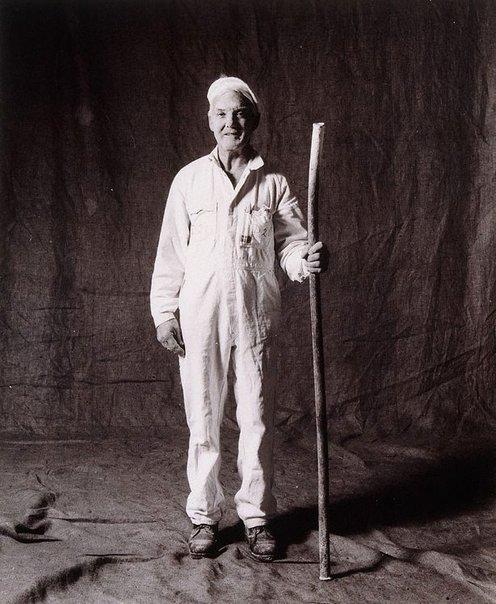 An image of Jim Burke, sugar runner-upper, CSR 38 years, Australian by Graham McCarter