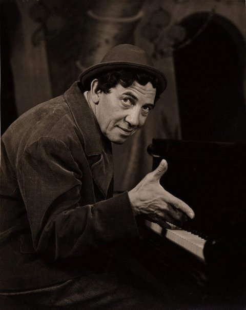 An image of Chico Marx by Athol Shmith
