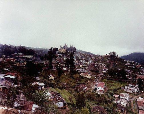 An image of Town (Kodaikanal I) by Gerhard Stromberg