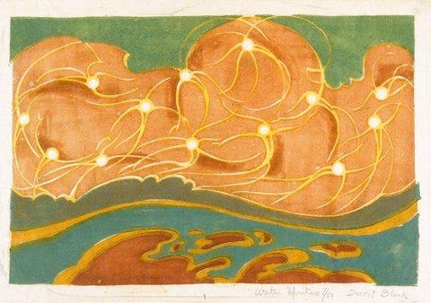 Watersprites, 1930-1931 by Dorrit Black