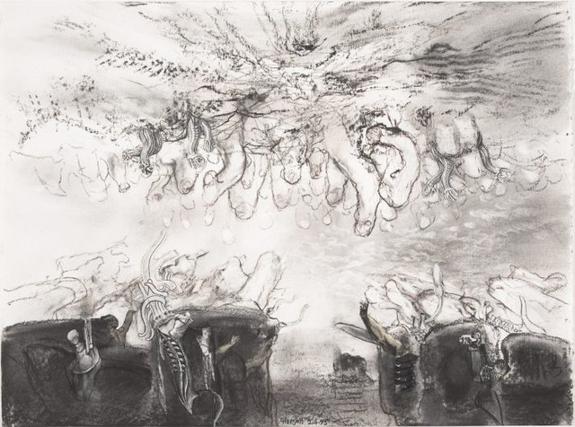 An image of Study for 'Checkpoint'