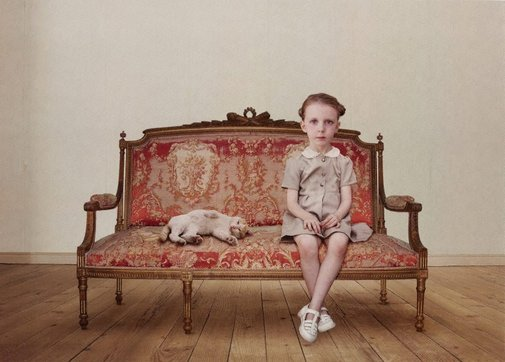 An image of The waiting girl by Loretta Lux