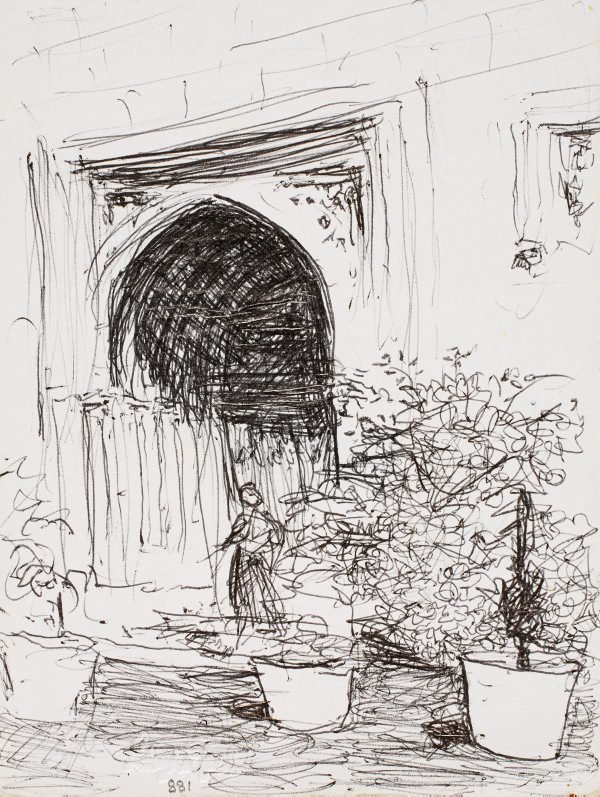 An image of Entrance to the Great Hall, University of Sydney
