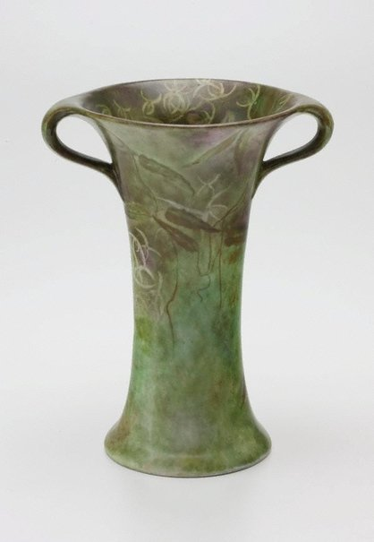 An image of Vase with Clematis design by Ella Richards