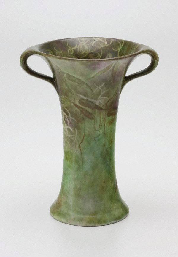 An image of Vase with Clematis design