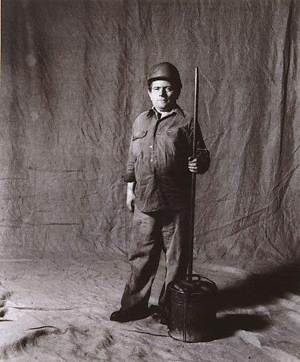 An image of Peter Janakiel, cleaner, CSR 15 years, Yugoslavian by Graham McCarter