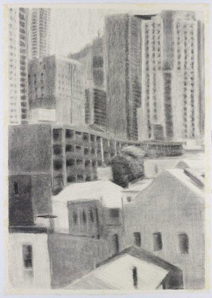 An image of Urban landscape II by Sallie Moffatt