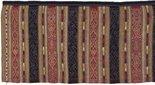 Alternate image of Ceremonial skirt 'phaa sin' with naga ('nak') motif by