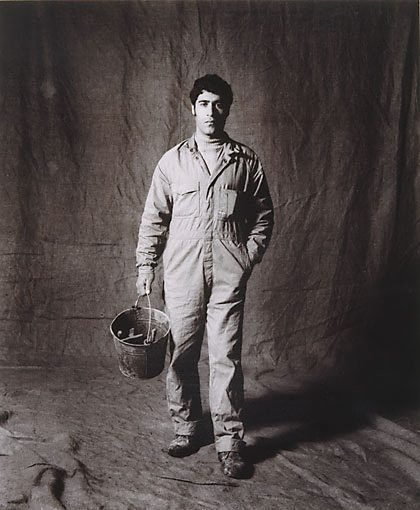 An image of Dimitrios Vaxevanis, bricklayers' assistant, CSR 3 years, Greek by Graham McCarter