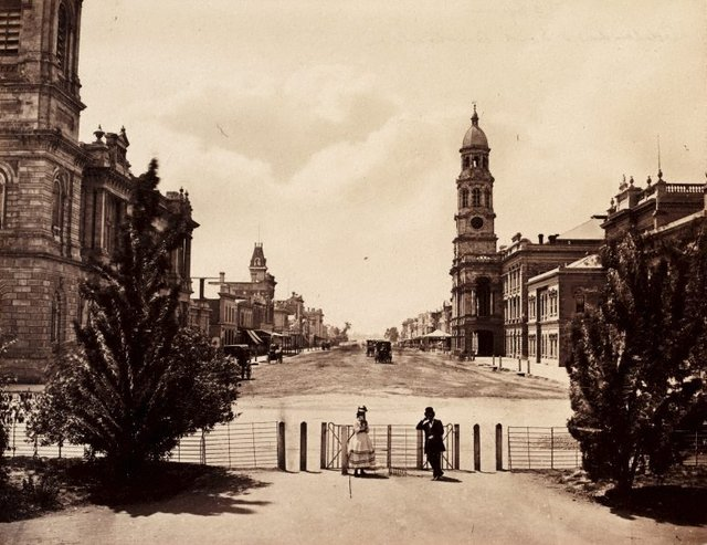 An image of King William Street, Adelaide
