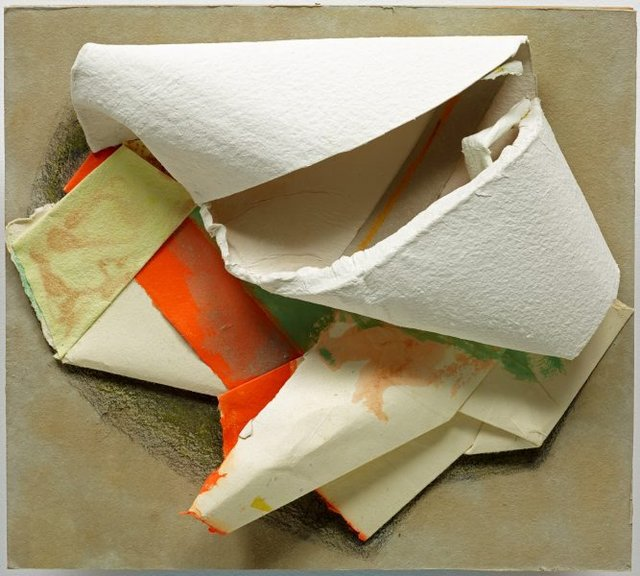 An image of Paper sculpture no.91 - First Colour