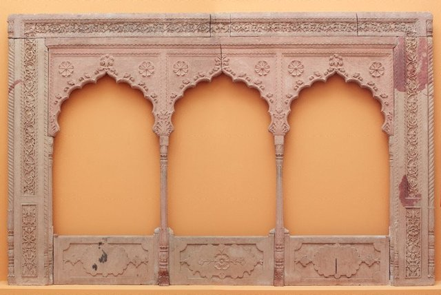 An image of A three arch balcony panel