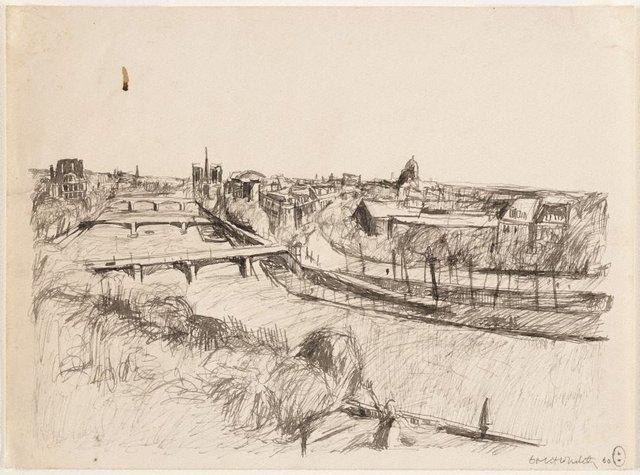 An image of (Seine view, Paris)