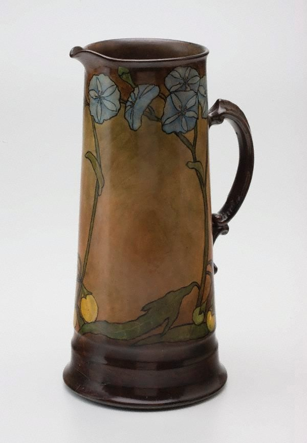 An image of Jug with solanum design