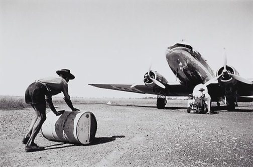 An image of Fuelling DC3, North Queensland by David Moore