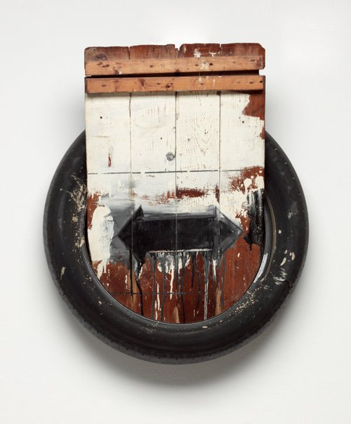 An image of Dylaby by Robert Rauschenberg