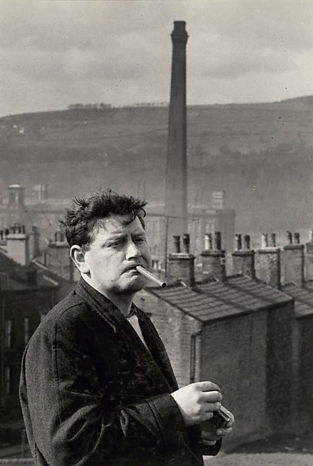 """An image of England, John Braine, one of the """"Angry young men"""""""