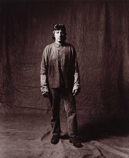 An image of Max Bennett, apprentice boilermaker, CSR 3 years, Australian by Graham McCarter