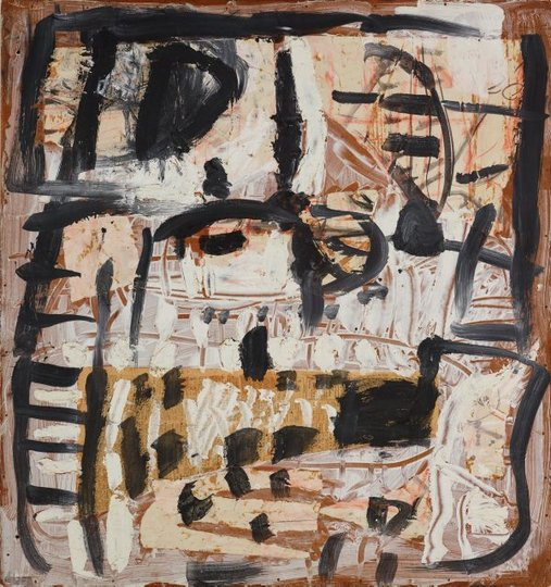 AGNSW collection Tony Tuckson Black on white (circa 1962) 224.2015
