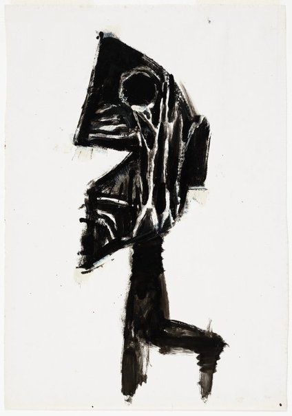 An image of Study for 'Head' by Albert Tucker