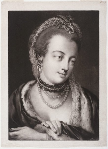 An image of Maria Gunning, Countess of Coventry by Thomas Frye