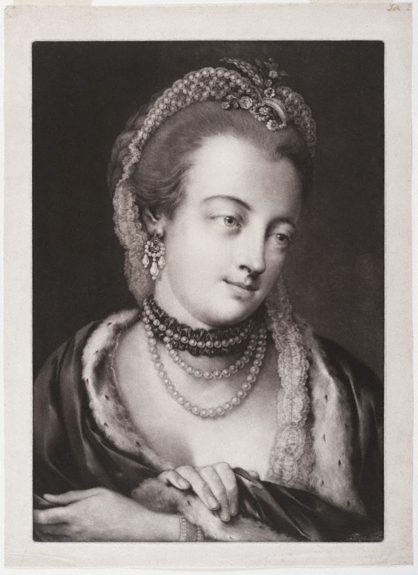 An image of Maria Gunning, Countess of Coventry