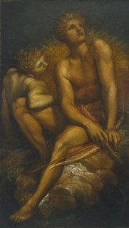 Artemis and Hyperion, (circa 1881) by George Frederic Watts