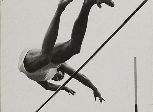 An image of London, pole vault by David Moore
